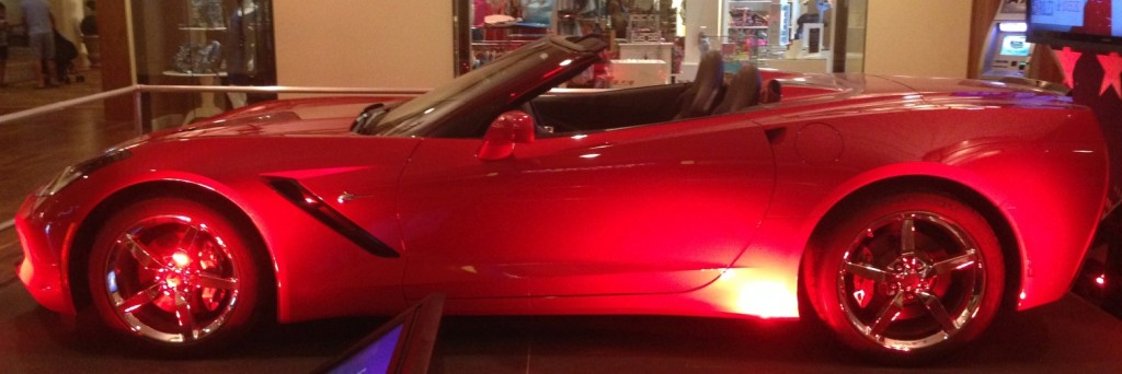 They really want you to try to win new, flashy sports cars all the time.